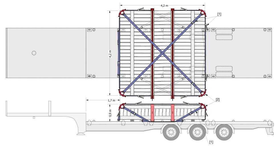 Caisse roues dissolveur - Atlantique Logistique de Transport MAINCO - La solution logistique