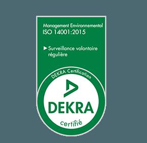 Logo Dekra 14001