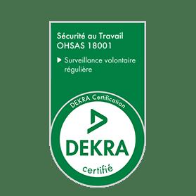 Logo Dekra ohsas 18001
