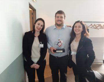 Atlantique Logistique de Transport - MAINCO vainqueur du trophée sécurité à Cadarache